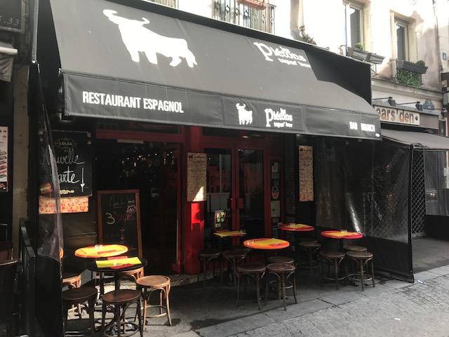 restaurant espagnol avec terrasse à Paris le marais