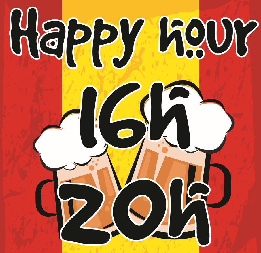 Happy Hours espagnol tous les jours aux Piétons !